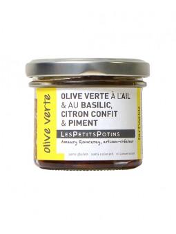 olive-verte-ail-basilic-citron-confit-piment-petits-potins-olive-verte