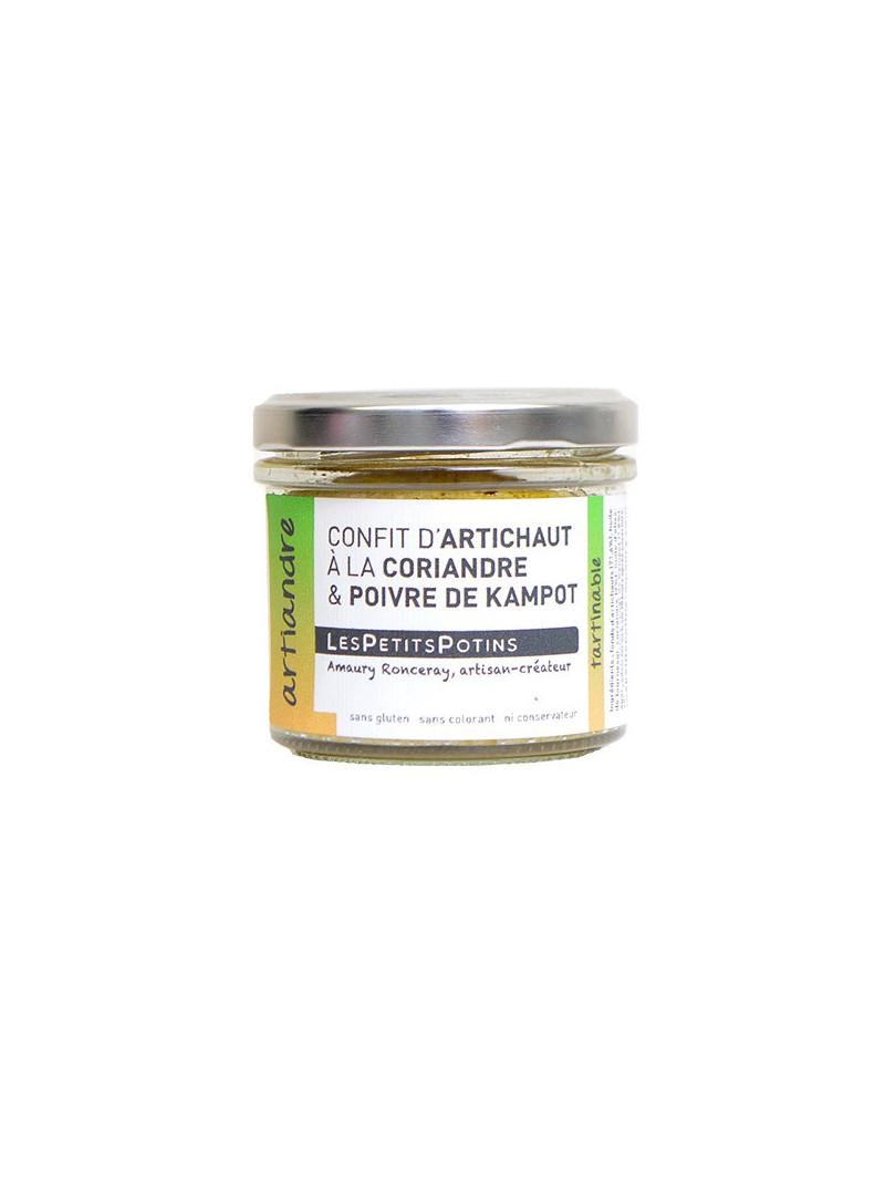 confit-artichaut-coriandre-poivre-kampot-petits-potins-artiandre